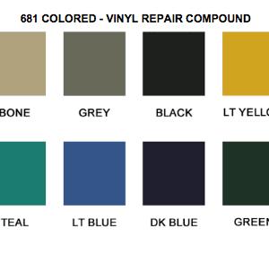 Vinyl Repair Compound